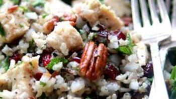 Chicken and Wild Rice Salad