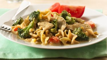 Dijon-Dill Chicken and Noodles