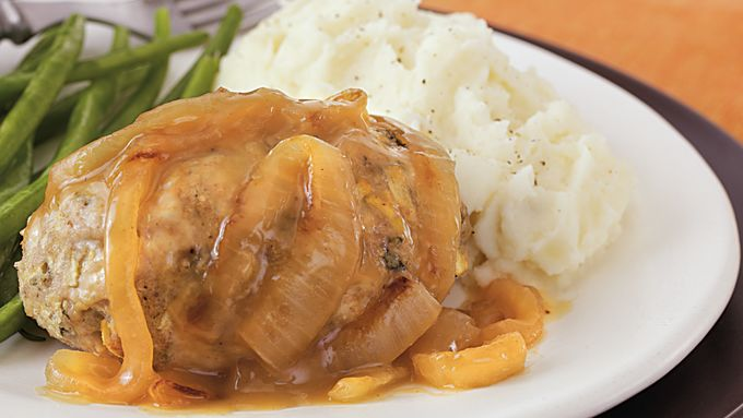 Sage Turkey Meatloaves with Gravy