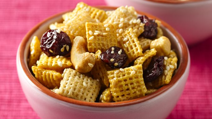 Honey Nut Cherry Crunch Chex Mix