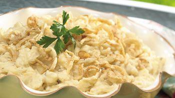 Sour Cream and Onion Potato Casserole