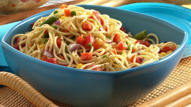 Confetti Spaghetti Salad