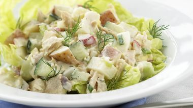 Skinny Red Potato and Tuna Salad