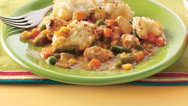 Chicken Dijon Shepherd's Pie