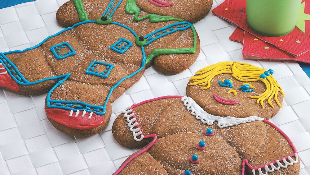 Simple-To-Make Gingerbread Friends