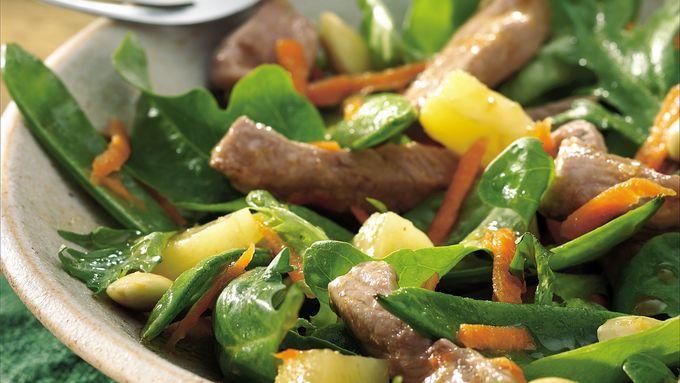 Teriyaki Pork Salad