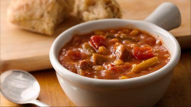 Slow-Cooker Vegetable-Beef-Barley Soup