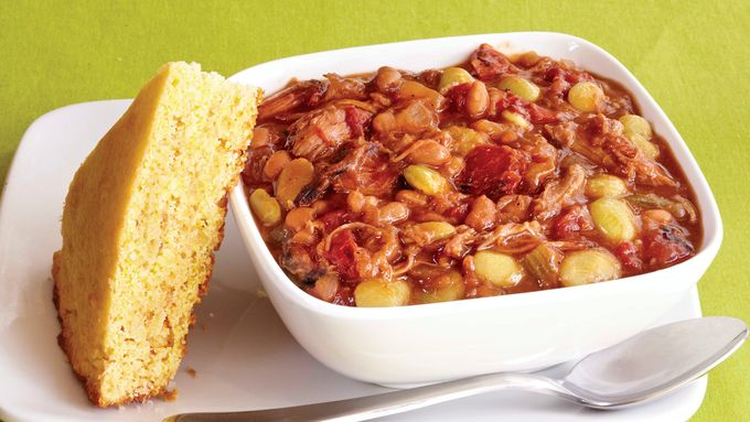 Slow Cooker Pork And Bean Stew Recipe From Tablespoon