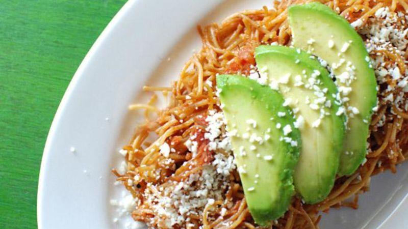 Sopa Seca (Mexican Noodle Casserole)