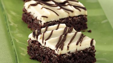Frosted Irish Cream Brownies