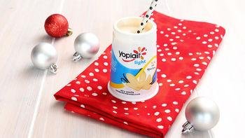 White Russian Yogurt Cocktail