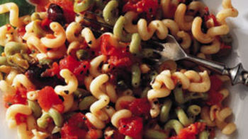 Chunky Vegetables with Fusilli