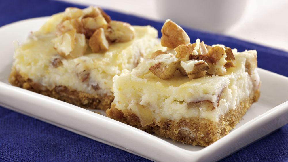 Italian Cream Cheesecake Bars
