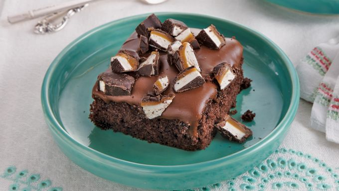 Milky Way® Poke Cake