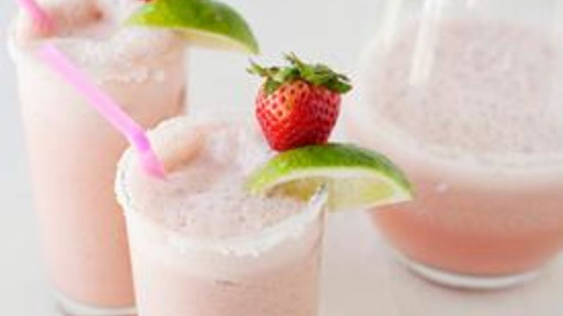 Strawberry-Coconut Coladaritas recipe - from Tablespoon!
