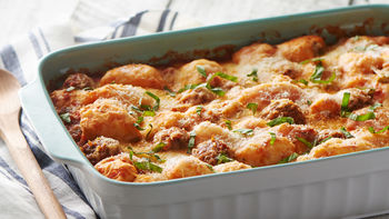 Meatball Sub Bubble-Up Bake