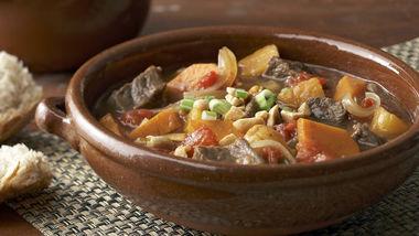 Skinny Beef and Sweet Potato Stew
