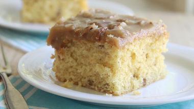 Praline Pecan Cake
