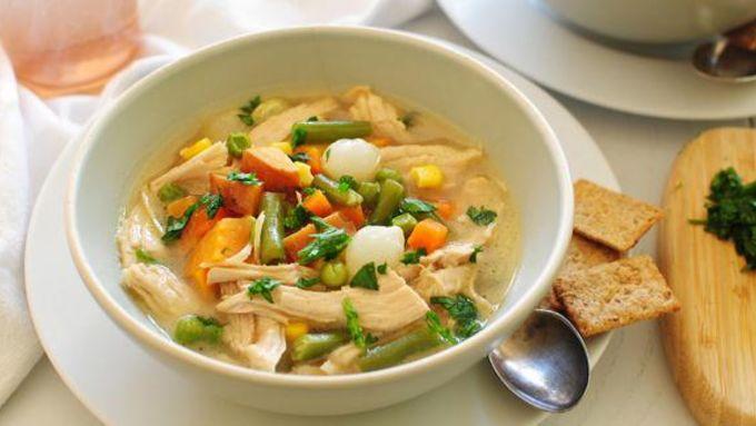 Leftover Turkey Carcass Soup