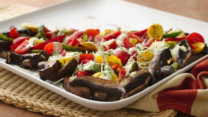 Caesar Vegetable Salad