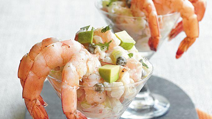 Shrimp Claws Salad