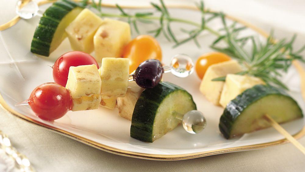 Marinated Havarti Cheese Kabobs