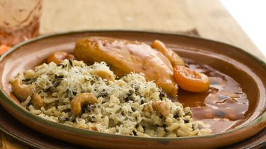 Creamy White and Wild Rice