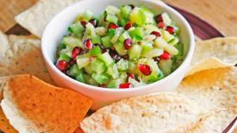 Quickie Pineapple Pomegranate Salsa