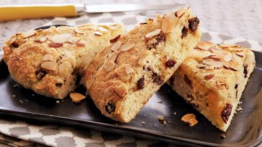 Chocolate Cherry Almond Scones