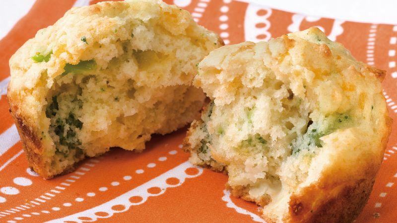 Broccoli-Cheese Muffins
