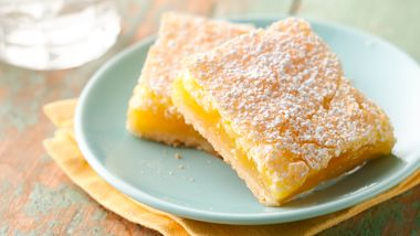 Luscious Lemon Squares