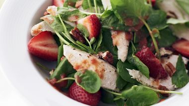 Skinny Citrusy Strawberry-Chicken Salad