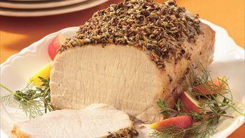Easy Garlic Pork Roast