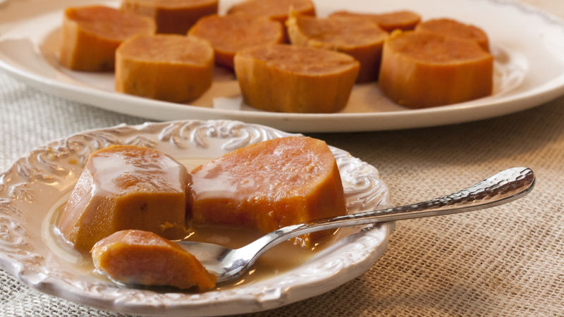 Camotes Enmielado (Candied Sweet Potatoes)