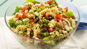 Greek Tossed Pasta Salad