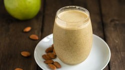 Almond and Apple Protein Shake