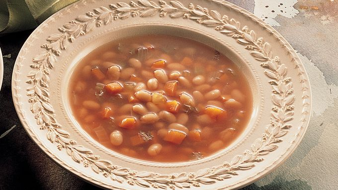Vegetarian Navy Bean Soup