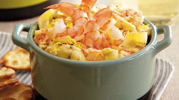 Warm Artichoke Shrimp Dip