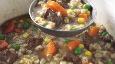 Classic Slow-Cooker Beef and Barley Soup