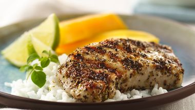 Grilled Cuban Pork Chops
