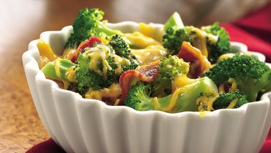 Cheesy Broccoli with Bacon