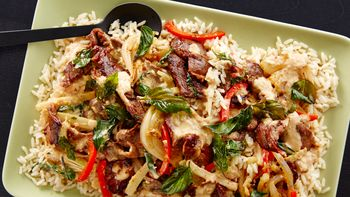 Thai Chile-Basil Beef