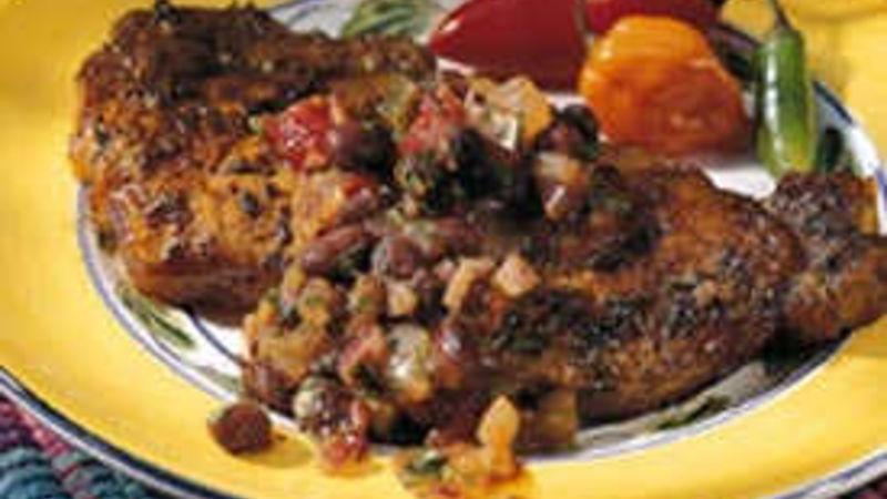 Broiled Santa Fe Steaks