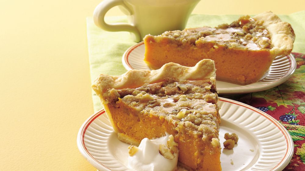 Maple-Walnut Pumpkin Pie