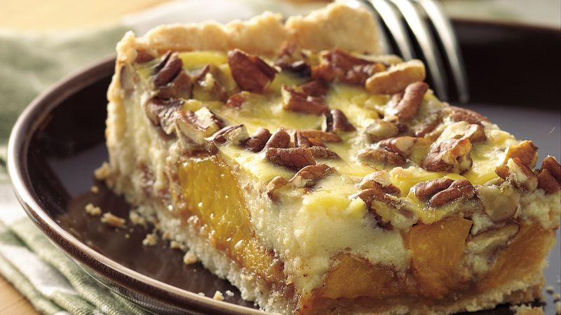 Easy Peach Kuchen