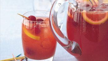 Raspberry-Apricot Sangria