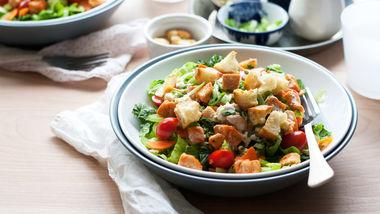 Lighter Buffalo Chicken Salads