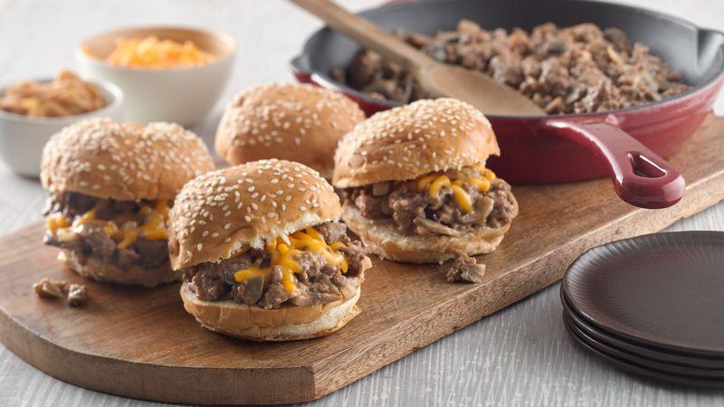 Steakhouse Burger Sloppy Joes