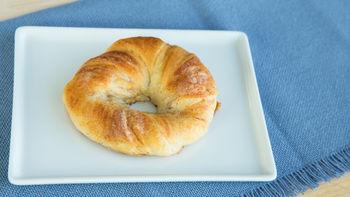 Cinnamon-Sugar Crescent Bagels