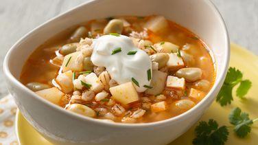 Fava Bean and Barley Chupe